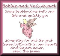 Bobbie's and Jim's Award