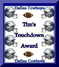 Tim's Homepage Award